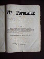 La vie populaire 1882 - T.5