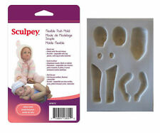 Sculpey Flexible Push Mold INFANT BABY DOLL Polymer Clay