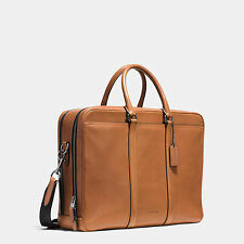 COACH METROPOLITAN COMMUTER IN SPORT CALF LEATHER STYLE # 71733 RETAIL $595 NWT