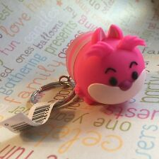 Authentic Disney Tsum Tsum Vinyl Figural Keychain Clip Ring Cheshire Cat