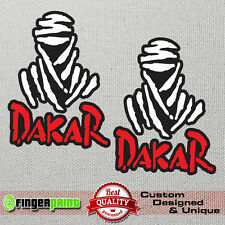 DAKAR rally sticker decal vinyl 4x4 off road honda africa twin jeep offroad bmw