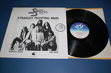 STRAIGHT SHOOTER - Straight Fighting Man  SKY  Made in Germany 1981 Maxi Single