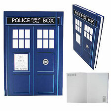 Doctor Who TARDIS Hardback Lined Pages Notebook NEW