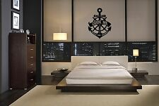 BE THE ONE TO GUIDE ME ANCHOR BEDROOM VINYL DECOR STICKER HOME DECAL WALL ART