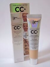 IT COSMETICS Your Skin But Better CC+ Cream MEDIUM Color Correcting .406 oz