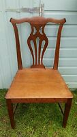 Antique Oak Victorian Hall/bedroom/ Library Chair