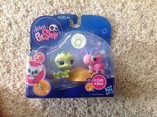 RARE Littlest Pet Shop Caterpillar Butterfly 1323 1324 New Sealed Hasbro Toys
