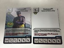 Dice Masters Batman Terror of Crime Alley 2016 Free Comic Book Day Promo Cards