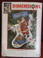 Dimensions Christmas Checking List Holiday Stocking Count Cross Stitch Kit #8645