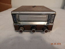 Vintage Auto car truck add on 8 track player 100007-094 woodgrain Home