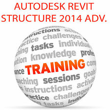 Autodesk Revit Structure 2014 avanzate-formazione VIDEO TUTORIAL DVD