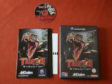 TUROK EVOLUTION / PAL - SPAIN / CIB - COMPLETE / GAMECUBE  GC  **  360