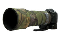 Sigma 120 300mm f2.8 OS SPORT Neoprene lens protection camo cover Woodland