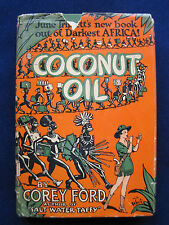 Coconut Oil SIGNED by COREY FORD as JUNE TRIPLETT to Playwright MARC CONNELLY