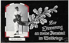 3818/ Foto AK, Erinnerung an meine Dienstzeit im Weltkrieg, Jablonna Polen 1916