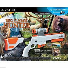 Bundle CABELA'S BIG GAME HUNTER 2012 Top Shot Elite Gun & Game PS3 NEW