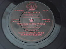 Dave Stewart with Barbara Gaskin : It's My Party - Waiting In The Wings : STIFF
