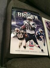 Patriots Troy Brown Hall Of Fame Day Poster 11X17