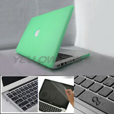 13'' Plastic Hard Case &Keyboard Cover&Screen protector for Macbook Pro 13inch