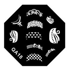 -- PLAQUE STAMPING NAIL ART GEL UV STAMPING STICKERS VERNIS A ONGLES--