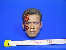 Hot Toys DX13 T800 Terminator Head Sculpt Only 1:6 Scale