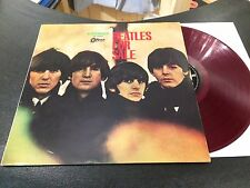 THE BEATLES - BEATLES FOR SALE (LP JAPAN RED RECORD 1966) OP 8442