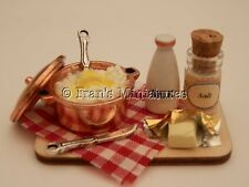 Dolls House Cibo: amoreggiare purè di patate Prep Board-by Fran