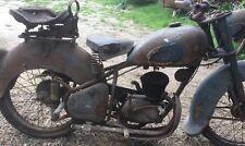 anciennne 125 PEUGEOT 55 TCL 1950 ,loft,usine,vintage,industriel,moto,solex