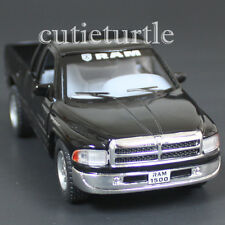 Kinsmart Dodge Ram 1500 4x4 Pick Up Truck 1:44 Diecast Toy Car Black