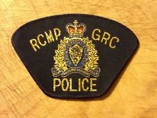 RCMP GRC POLICE BADGE. ROYAL CANADIAN MOUNTED POLICE.