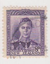 (NZK310) 1935 NZ 8d violet KGVI (F)