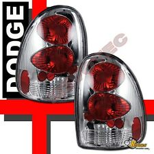 96-00 Dodge Caravan Chrysler Town & Country Plymouth Voyager Chrome Tail Lights