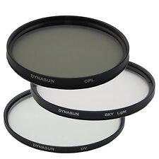 Filtro Ultra Violetto DynaSun UV 62mm + Polarizzatore Circolare 62 mm + Skylight