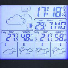 FreeTec Digitale Wetterstation 4-Tage-Vorhersage/Hygrometer/Mondphase