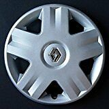 "RENAULT CLIO MEGANE SCENIC Style Chrome One 14"" ruota rifinitura RE 417at 14"""
