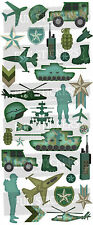 Fun Stickers ARMY 823 For Children Fun Activities Craft Decorating