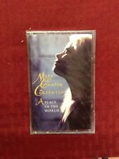 A Place in the World by Mary Chapin Carpenter (Cassette, Oct-1996) NEW Sealed