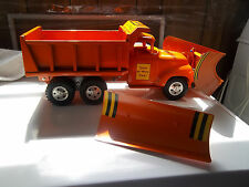 """1957 TONKA STATE HIGHWAY HYDRAULIC   """"BIG MIKE"""" TRUCK WITH PLOWS"""