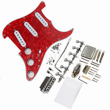 Loaded Pickguard Bridge Tuners Set for Stratocaster Strat Guitar Replacement