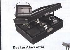 SAFE 217-1 Caja para relojes negro, cuero de grano, para 6 relojes I Producto B