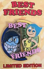 DISNEY PIN INSIDE OUT JOY AND SADNESS BEST FRIENDS LE 2 PIN OF THE MONTH DLR WDW