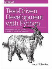 Test-Driven Development with Python by Harry J. W. Percival (2014, Paperback)