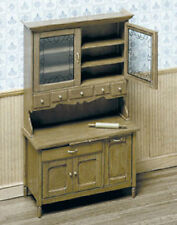CHRYSNBON - KITCHEN CABINET KIT Dollhouse 1:12 Miniature Hutch