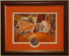 Tennessee Volunteers football Traditions framed print by Greg Gamble