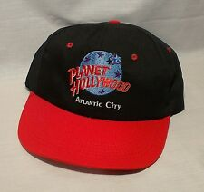 PLANET HOLLYWOOD Atlantic City Baseball Trucker Painter Cap Snap Back Excellent