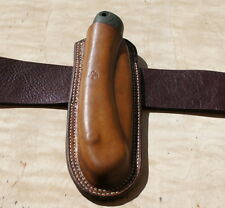 Leather sheath for BAHCO Laplander or Silky Gomboy 210 or 240 or Stihl Handycut