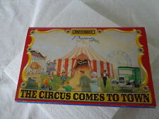 MATCHBOX PRESENTS THE CIRCUS COMES TO TOWN 1:64 SCALE CIRCUSES OR THE WORLD