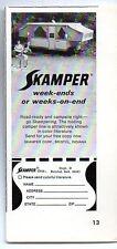1969 Print Ad Skamper Tent Camping Trailers Bristol,IN