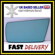 Left Passenger Side Wing Mirror Glass  MERCEDES C-Class W202 93-00 Convex Blue