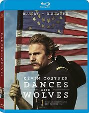 DANCES WITH WOLVES :25th Anniversary Edt) 234 mins- Region A  - BLU RAY - Sealed
